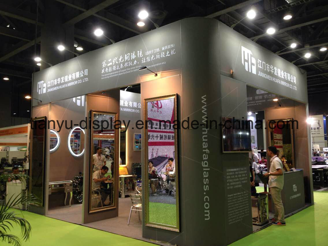 Portable Aluminum Standard Exhibition Booth with Door System