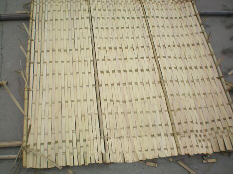 Artificial IVY Vine Leaf Split Bamboo Fence