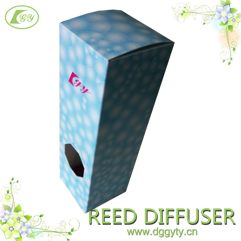 OEM Ice Cube Style Fragrance Aroma Essential Oil Reed Diffuser Gift Set, Air Purify (Unique Design)