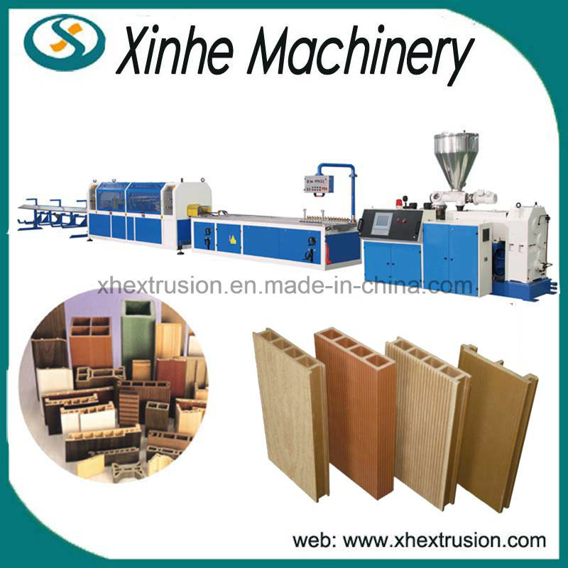 PVC Wood Profile Plastic Making Machine Line/WPC Profile and Board Production Line