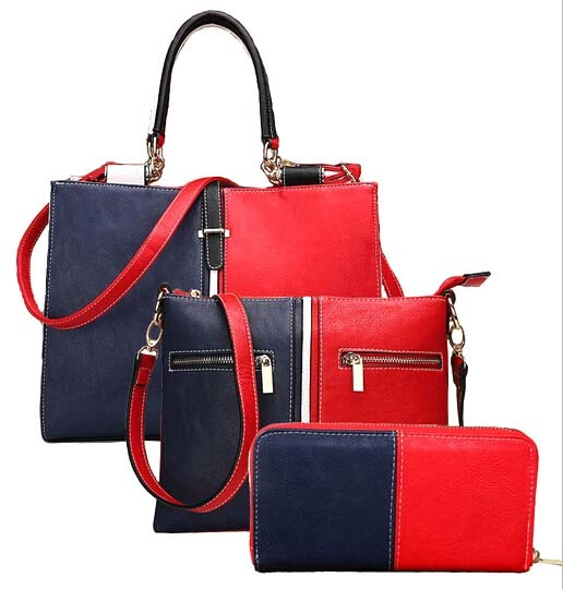 Tommy Series 3PCS Set Hand Bag Fashion Leather Designer Handbag (XM0271)
