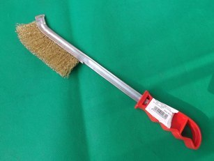 Long Plastic Handle Steel Wire Brush