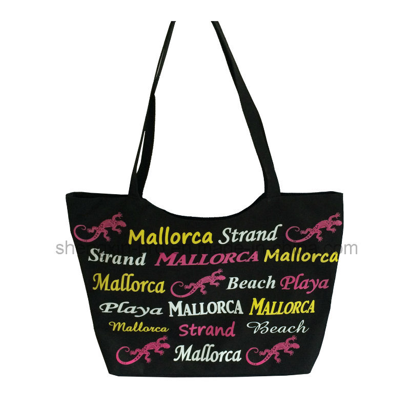 Polyester Shopping Bag with Colorful Printing Logo