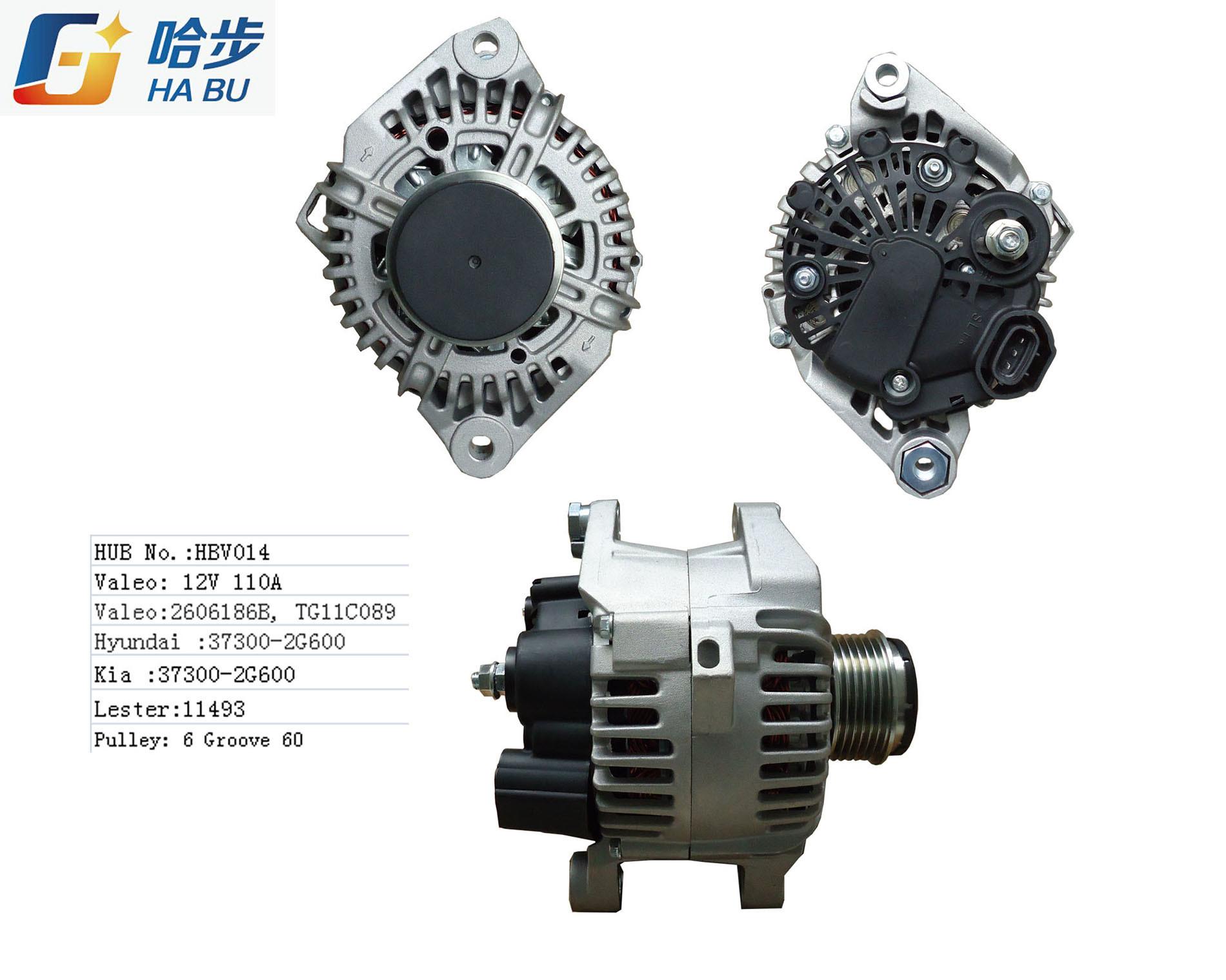 11 12 13 Alternator Generator 37300-2g600