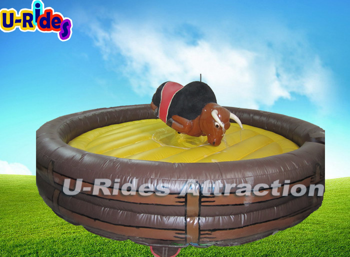 Mechanical Big Body Rodeo Bull Jumping Fighting Buking Bull with Surfboard