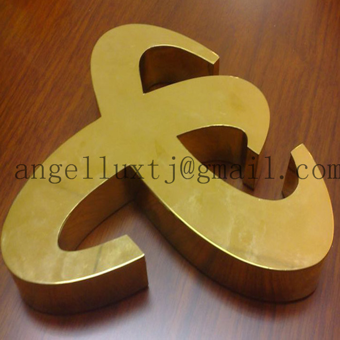 Laser Cutting Flat Cut Lettering Stainless Steel Letters Metal Numbers