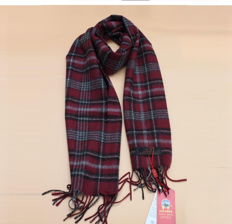 100%Yak Wool Lattice Scarf/ Cashmere Garment/ Camel Wool Knitwear