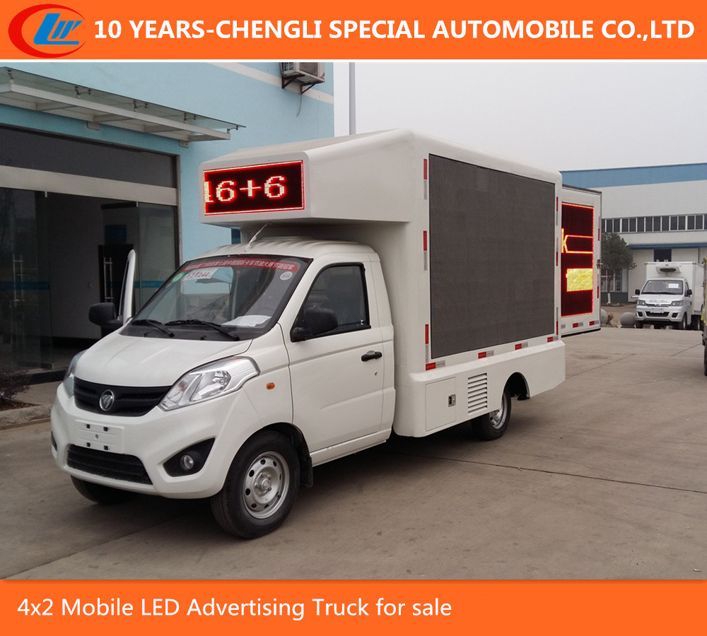 4X2 P5 P6 P8 Mobile LED Advertising Truck for Display