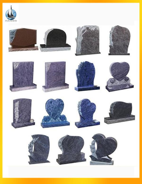 China Natural Granite Tombstone for Memorial, European Tombstone