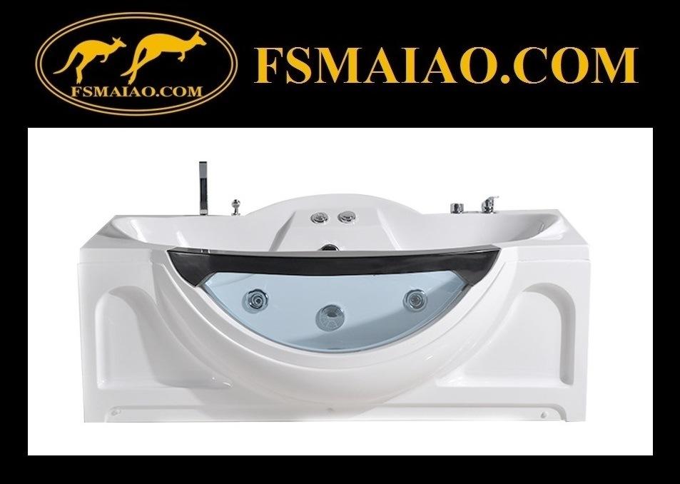 New Fashion Style Bathroom Acrylic Massage Bathtub (BA-8606B)