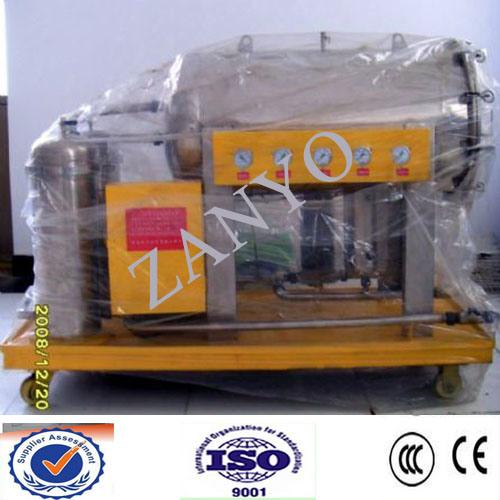 600L/H High Efficiency Vacuum Cooking Oil Filtering Machine