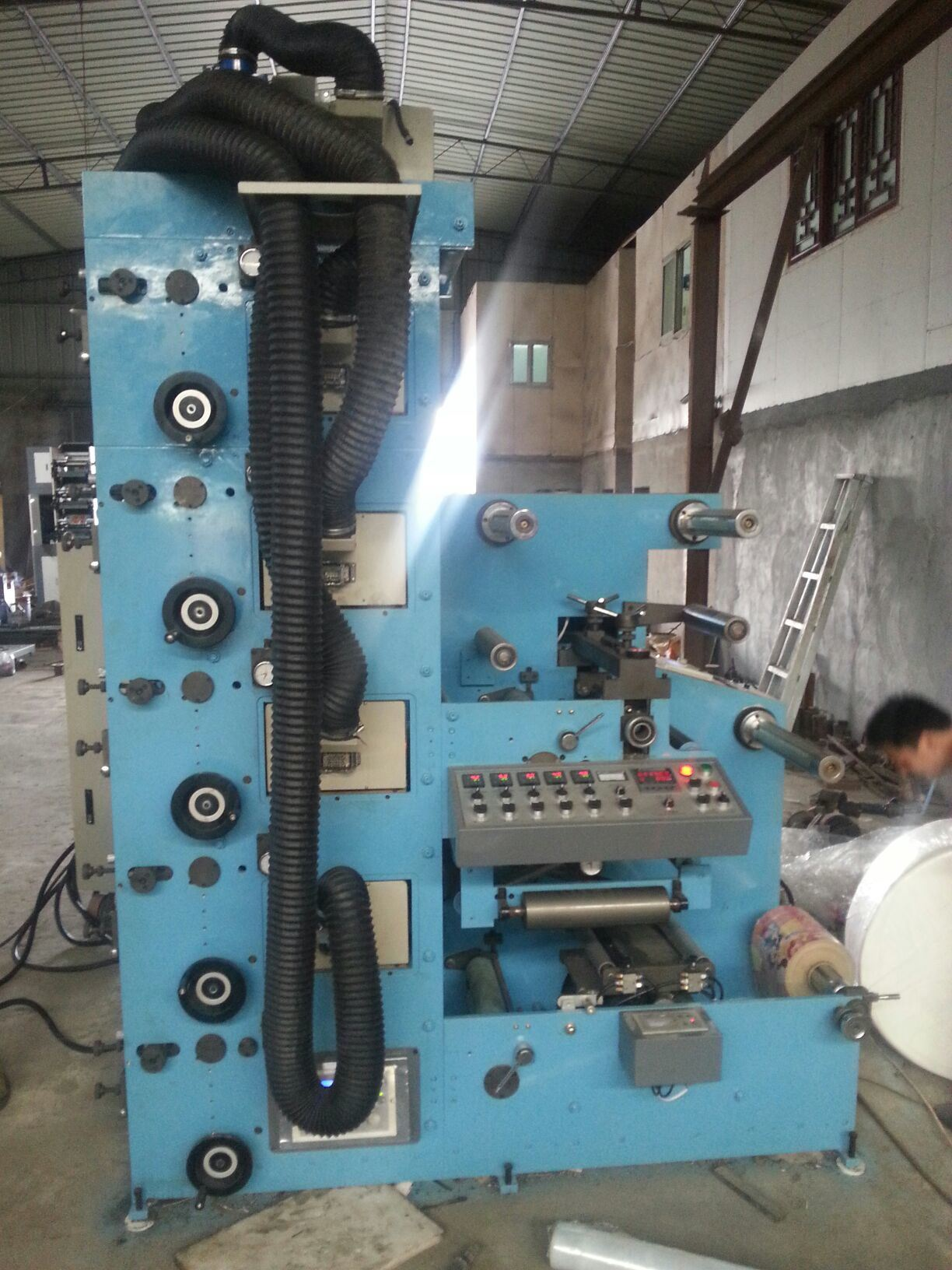 Automatic Flexo Printing Machine (RY-320B-5C)