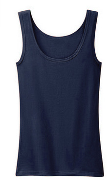 Bamboo Women′s Navy Blue Tank Top