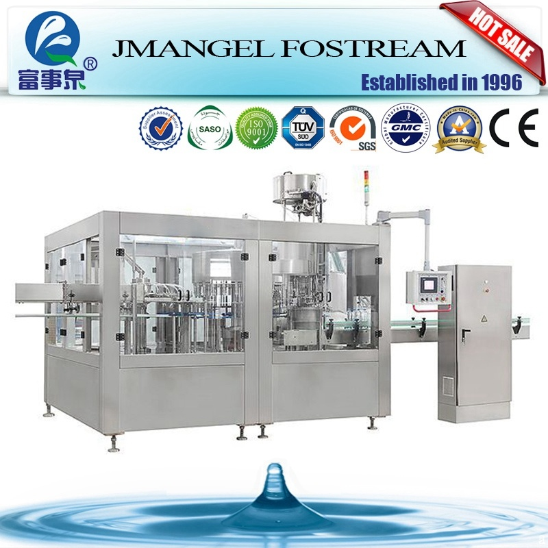 Full Automatic Complete Small Bottled Drinking Water Pure Water Mineral Water Production Line