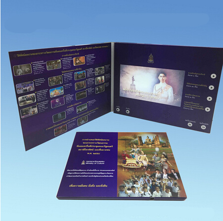 Advanced Custom LCD Screen Greeting Graphic Video Cards From China