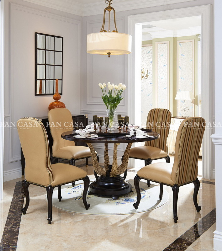 High Quality Classical Wooden Diningroom Furniture (MS-A6050b)