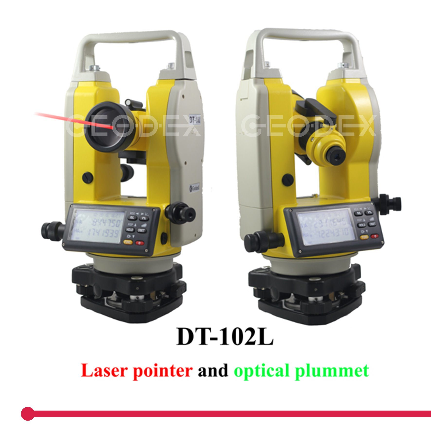 Laser Theodolite Total Station with 200m Laser Point