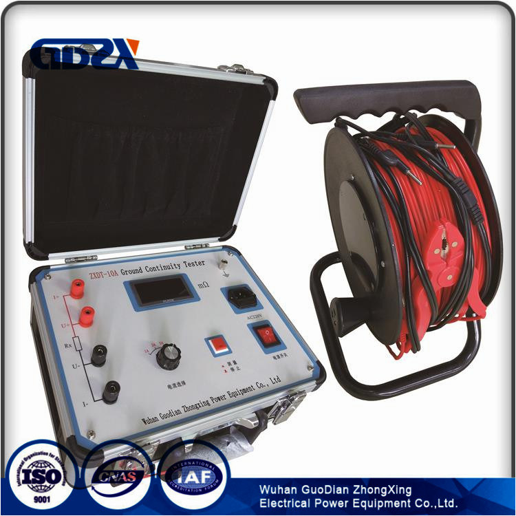 Grounding Down Lead Continuity Tester