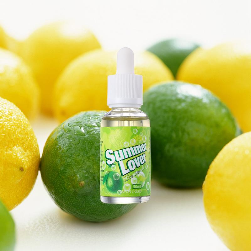 30ml Lemonade Flavor Hookah E Liquid E-Juice OEM Factory