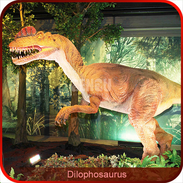 Showroom High Simulation Dinosaur Specimens