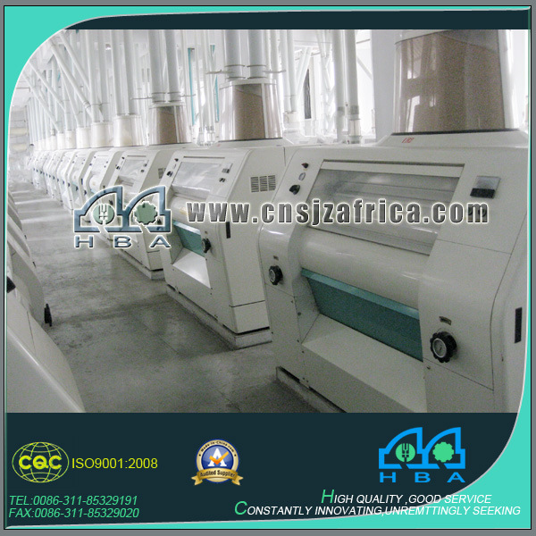 European Standard Quality Corn Flour Milling Machine