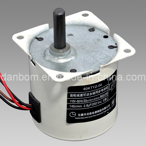 AC Reversible Permanet Magnet Synchronous Gear Motor (60TYD)
