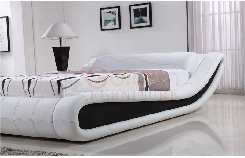 New Arrive! Designed Modern Leather Beds for Bedroom
