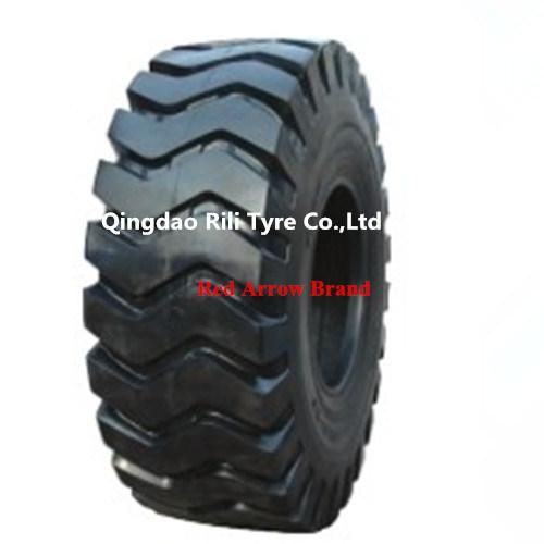 (1100-16) China Rili Tyre Factory Nylon OTR Tyre