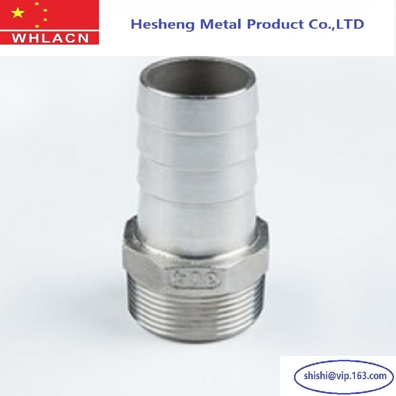 Sanitary Stainless Steel 201 Hose Nipple Fitting for Beverage