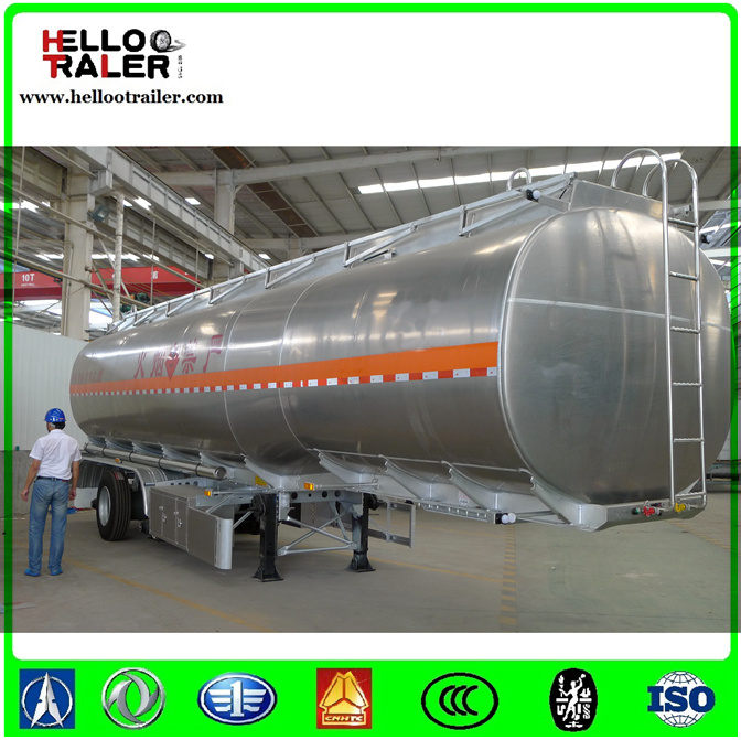 China Supplier 50000 Liters Fuel Tank Semi Trailer Fuel Tanker Trailer