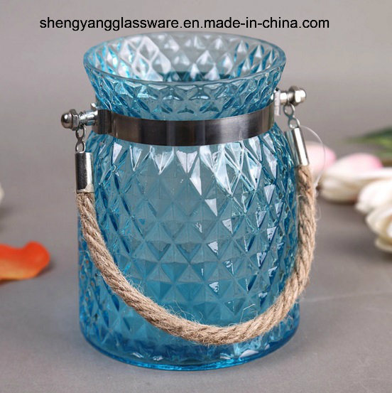 Portable Glass Candle Jar/ Color Jar