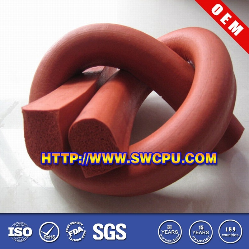 Extruded Waterproof Door Weather Seal / Rubber Strips
