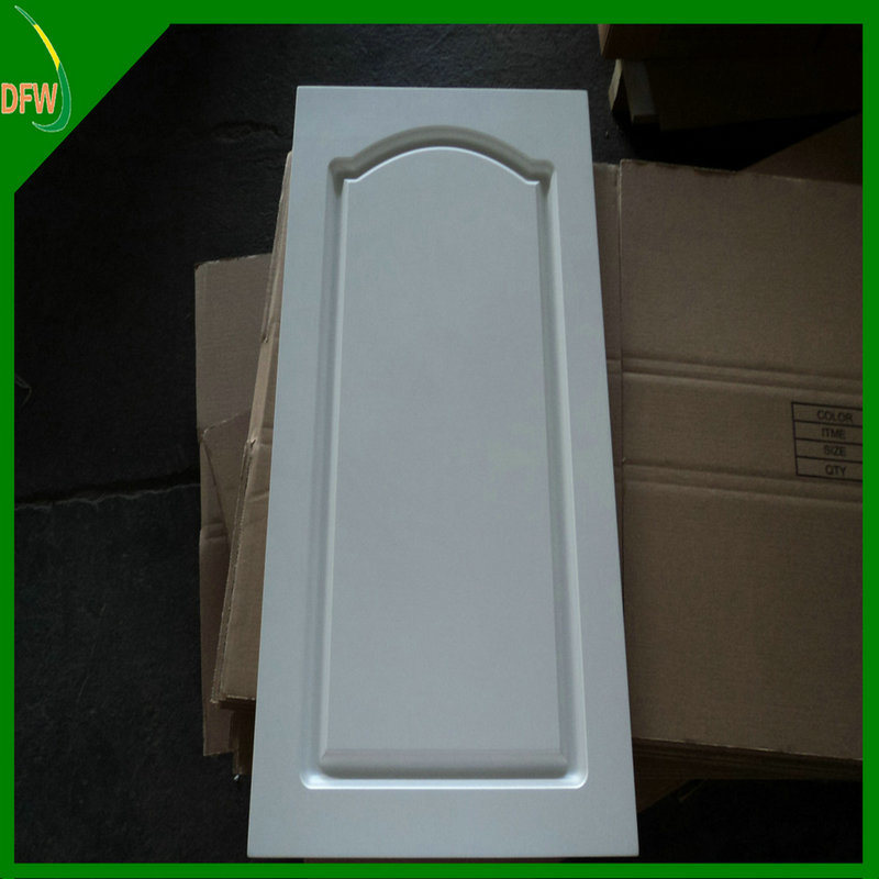 Europe PVC Vacuum Cabinet Door in Kitchen