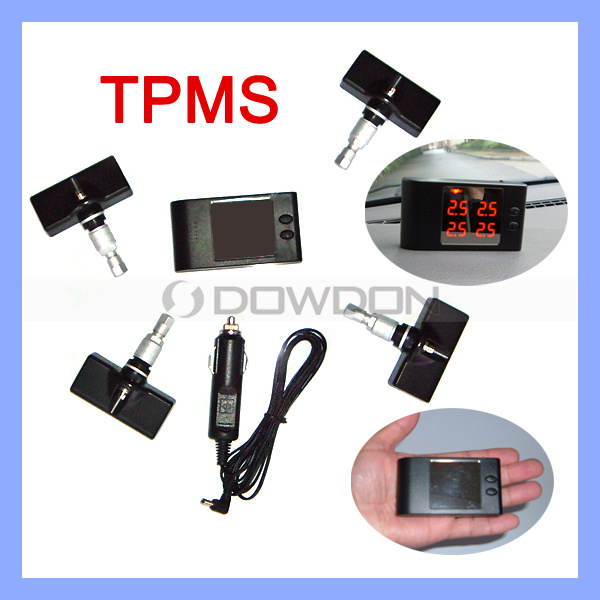 Wireless Universal TPMS with Internal Sensor Tire Pressure Monitoring System for Car