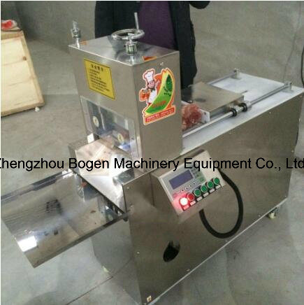 Fully Automatic Adjustable Meat Slicing Machine Mutton Roll Slicer Meat Slicer