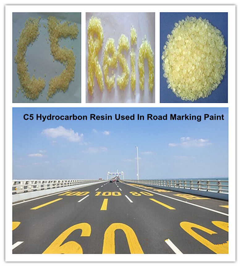 Hot Melt Road Marking Paint of C5 Aliphatic Hydrocarbon Resin