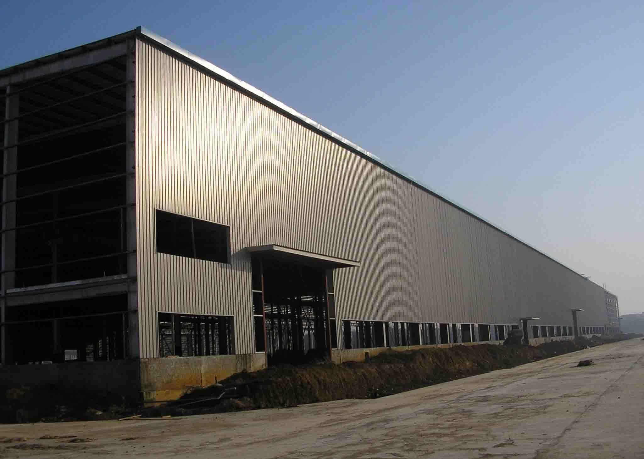 Contemporary Steel Buildings : China modern steel structure building