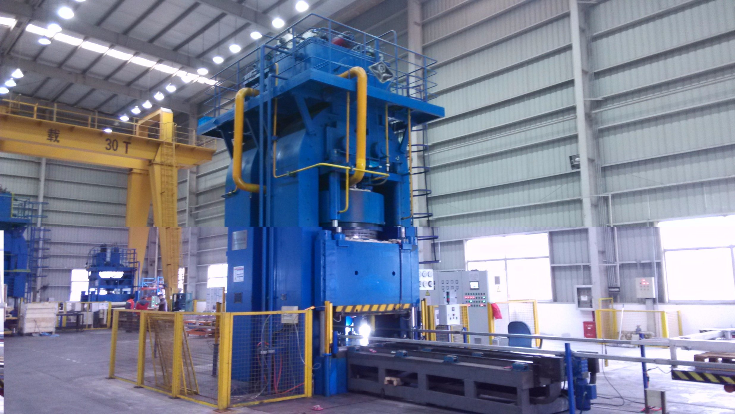 10000t Hydraulic Press for Metal Plates Stamping/Forming