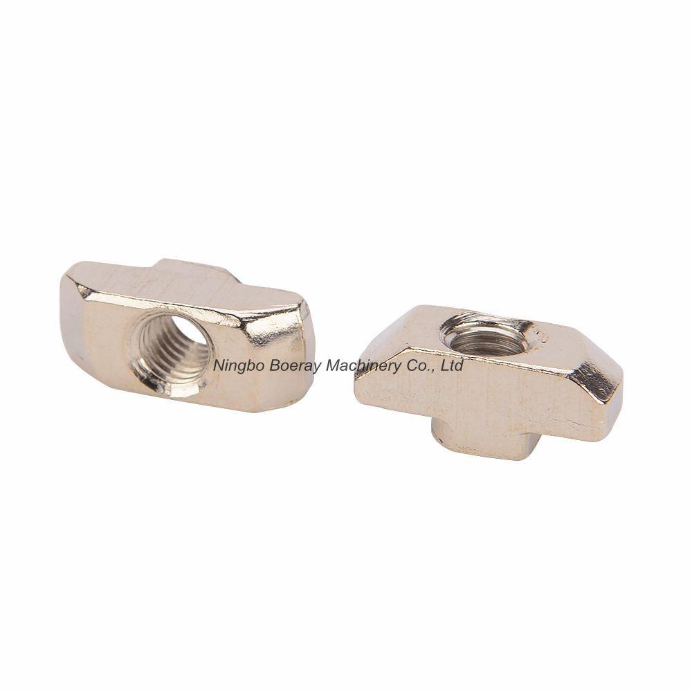 Aluminum Extrusion 4545 Series M8 Fastener Nut