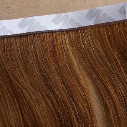 Flat Tape Hair Extensions with 100 % Human Hair Virgin Hair