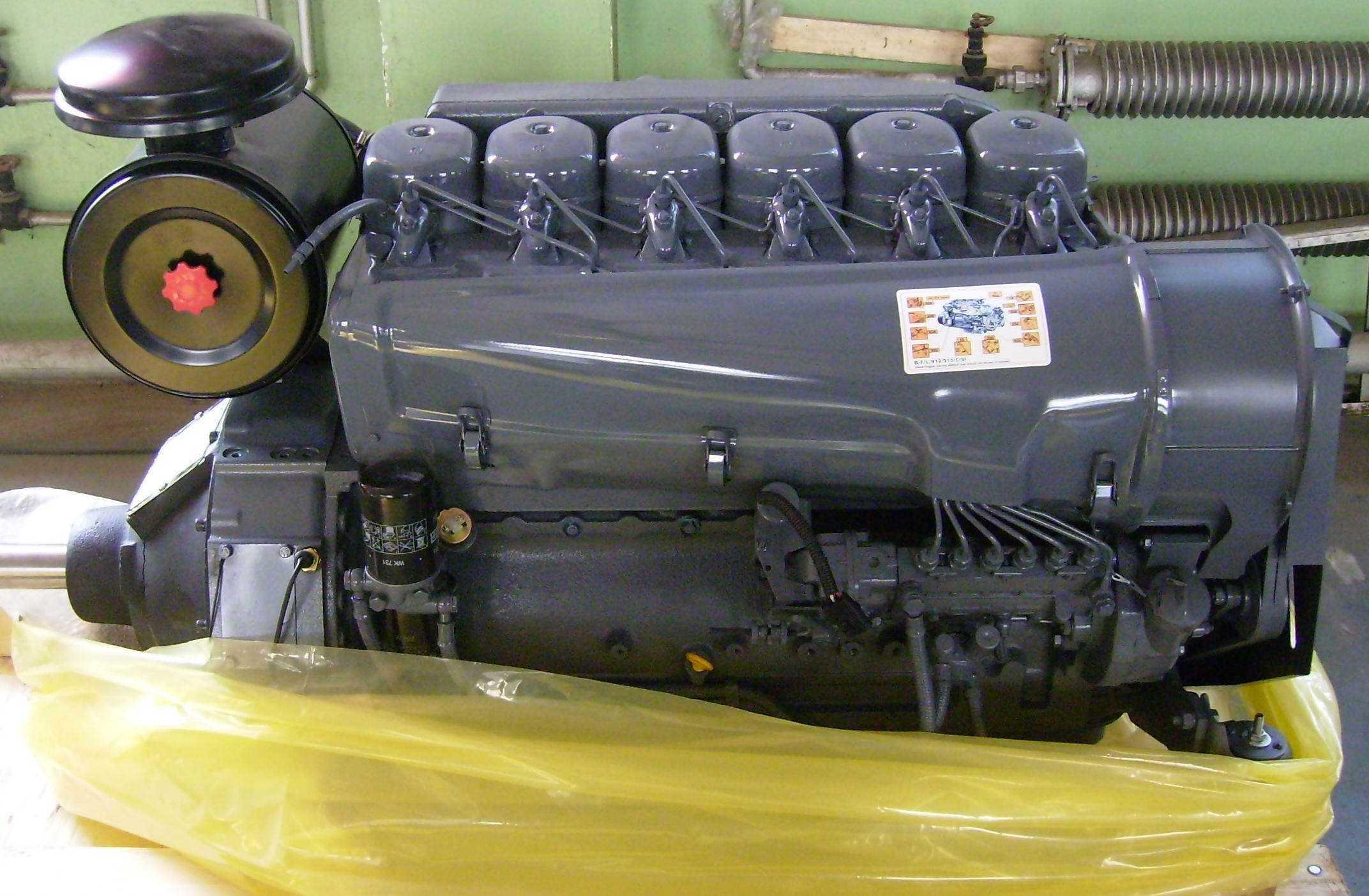 Air Cooled Deutz Diesel Engine (F6L912)