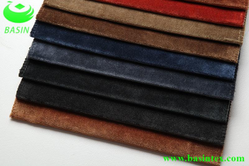 Velvet Sofa Fabric (BS4027)