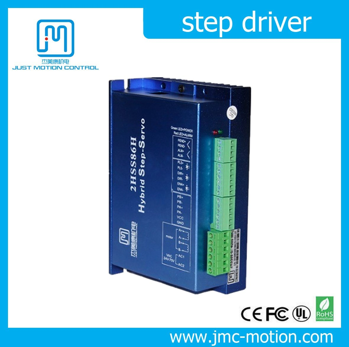 Closed Loop Stepping Servo Driver Hybrid Step Motor Drive