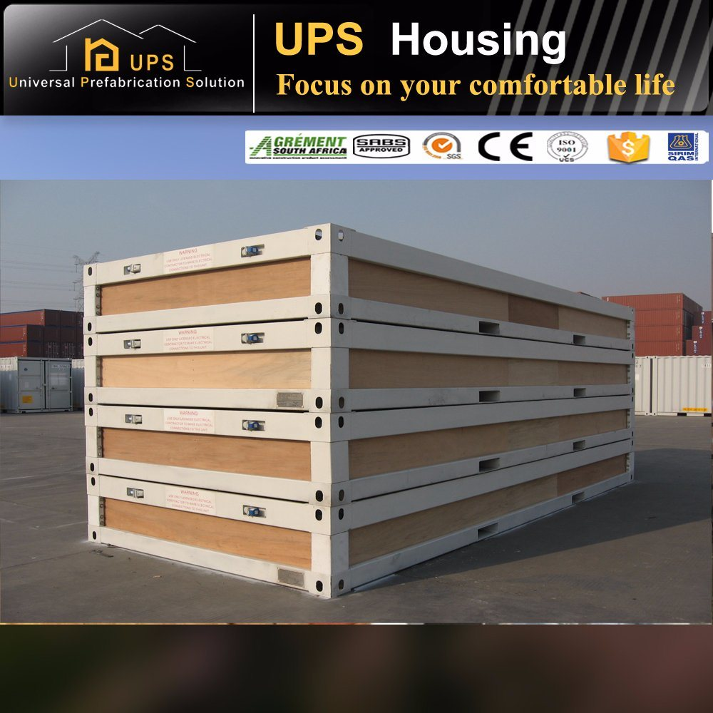 Family Living Container Prefabricated House with Decoration and Facilities