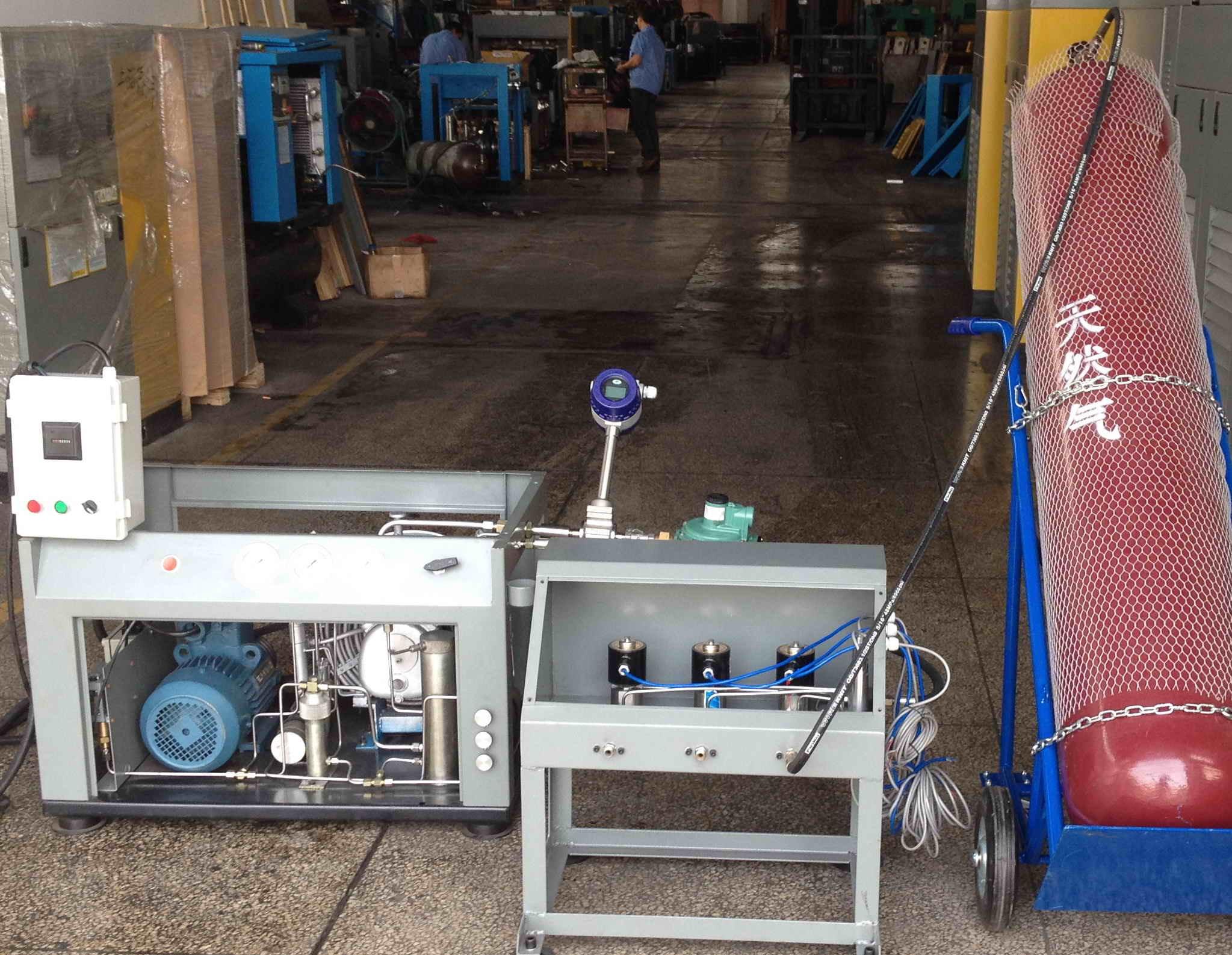 Biogas Recovery and Transportation Compressor