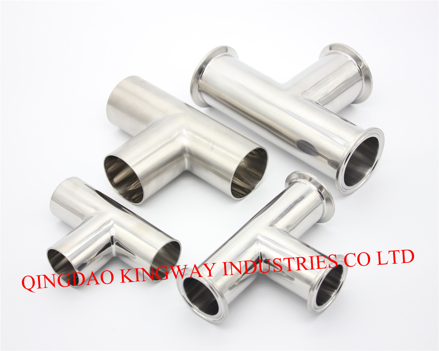 Stainless Steel Sanitary Welded Tee