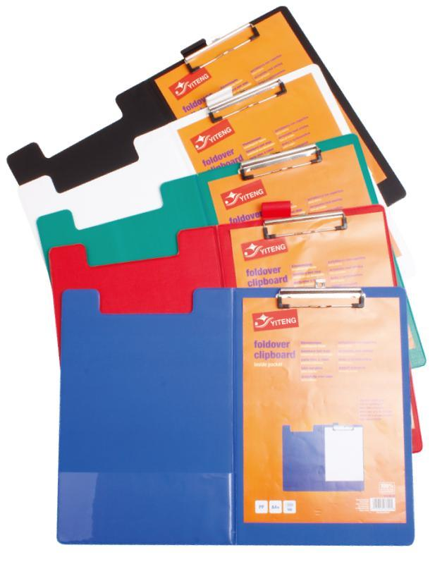 Office Supplies Double Clip File Board