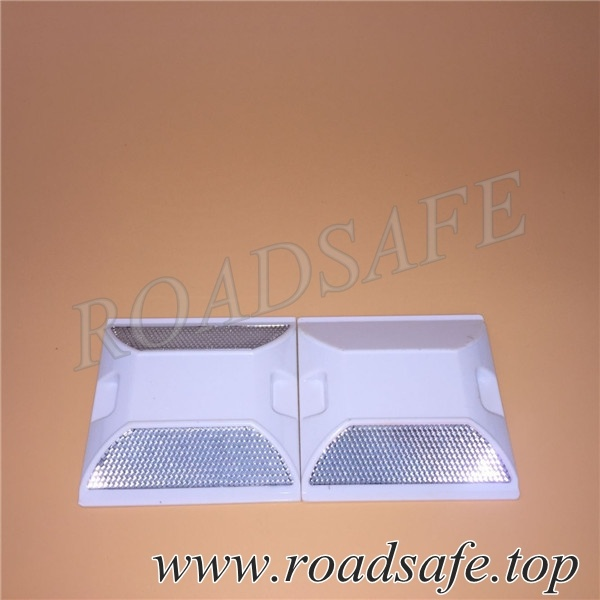 Double Reflective, Yellow, Red Green, White Plastic Road Stud