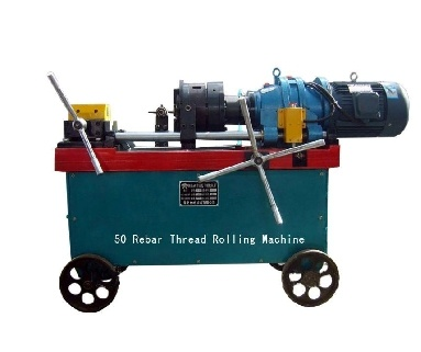 Rebar Thread Rolling Machine (rebar rib-stripping and thread rolling machine)