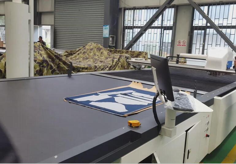 Tmcc-2025 Fabric Cutter Cam Digital Cutting System for Fabric Cutting